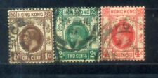 Hong Kong Old Stamps Lot 1. Wkm Multi Crown CA