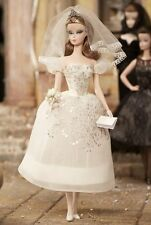 BARBIE FASHION MODEL PRINCIPESSA BRIDE  DOLL BARBIE  SILKSTONE NEW