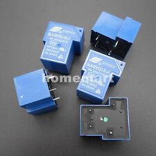 5PCS SLA-05VDC-SL-A 4 Pins SONGLE R Power Relay 5V DC SLA Original 30A Switching