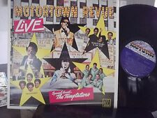 THE MOTOWN REVUE LIVE TEMPTATIONS,GLADYS KNIGHT & THE PIPS,STEVIE WONDER ETC.