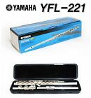 Yamaha Student Flute YFL-221 Offset G C-Foot Joint Nikel Silver with Case
