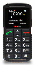 TTfone TT59 Dual 2 Basic Simple Senior Mobile Phone Big Buttons Two Sim Unlocked