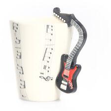 Blue Witch 3D Mug - Guitar Electric , Hand Crafted Ceramic Coffee Mug