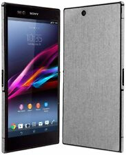 Skinomi Brushed Aluminum Full Body+Screen Protector for Sony Xperia Z Ultra