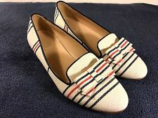 J. Crew Made in Italy womens bow flats shoes size 8.5
