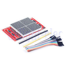 16x16 LED Dot Matrix Module LED Display for Arduino 51 Compatible 12864 LCD DH