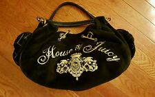 NWOT Juicy Couture House of Juicy RARE Black Satchel