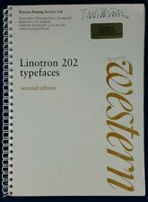 Linotron 202 typefaces 2nd edition