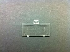 NEW TRANSPARENT SEE THRU CLEAR GAME BOY POCKET REPLACEMENT BATTERY COVER LID