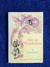 Alice in Wonderland by Lewis Carroll & Sir John Tenniel Scholastic Paperback 1st