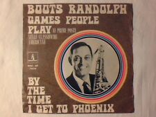 "BOOTS RANDOLPH Games people play 7"" ITALY UNIQUE PICTURE SLEEVE"