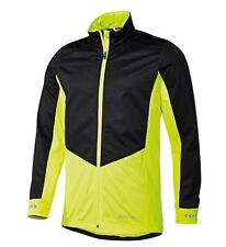 BNWT MEN'S CYCLING BIKE WINDPROOF SOFTSHELL JACKET HIGH VISIBILITY SIZE M 38/40