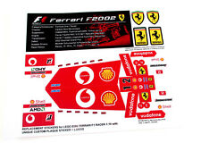 REPLACEMENT STICKERS for Lego 8386 FERRARI F1 RACER with EXTRA'S 'DIE CUT'
