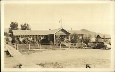 Hot Springs MT Gov't Bath House c1920s Real Photo Postcard