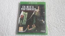 CRIMES AND PUNISHMENTS SHERLOCK HOLMES FOR MICROSOFT XBOX ONE (NEW/SEALED)