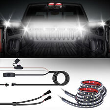2× Pickup Car LED Strip Pick Truck RV Awning Bed Light Lamp Kit On-Off Switch