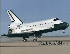ROBERT HOOT GIBSON SIGNED 8x10 SPACE SHUTTLE STS 27 PHOTO - UACC RD AUTOGRAPH