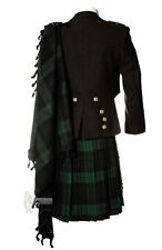 DELUXE FLY PLAID - BLACK WATCH - WEAR WITH YOUR KILT OUTFIT!