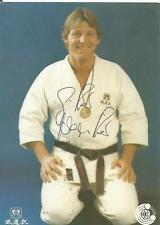 Günther Neureuther - JUDO - Autogrammkarte