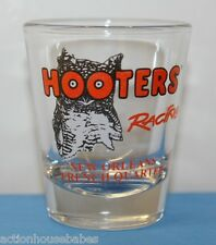 HOOTERS RACING NEW ORLEANS FRENCH QUARTER SHOT GLASS (RESTAURANT)