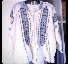 Ralph Lauren Denim & Supply Embroidered Cotton Tunic Worn Once M