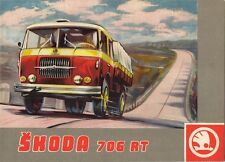 Skoda 706 RT & RTS Truck c1963 UK Market Sales Brochure