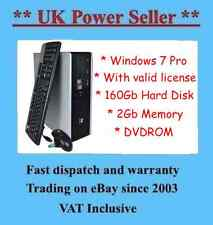 VELOCE Potente HP Dc5750 A Buon Mercato PC Internet READY COMPUTER DESKTOP WINDOWS 7