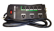 Monster Power JP 800G Advanced Surge Protector 8 Outlets - Black - 2160 Joules
