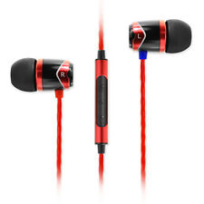 SoundMAGIC E10C In Ear Isolating Earphones with Mic - Black & Red - Refurbished
