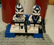 Lego Star Wars Echo & Fives 501st ARC Troopers Custom Clone Wars Figures