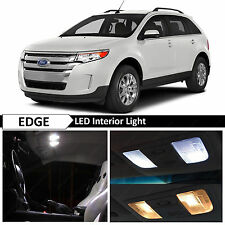 13x White Interior LED Lights Package Kit for 2007-2014 Ford Edge + TOOL