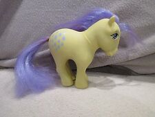 MLP mon petit poney my little pony G1 jonquille lemondrop hong kong 1982