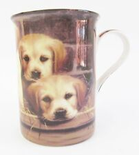 Labrador Pups Dog Mug Fine Bone China  Boxed