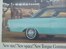 VINTAGE 1965 RAMBLER CLASSIC MAGAZINE TWO PAGE AD