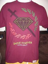 DIAMOND SUPPLY T-SHIRT-MEDIUM- SHINE-  VANS-DC-HUF-SUPREME-ETNIES-SKATE SHIRT