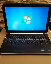 "Dell Latitude E5530 15.4"" Laptop Windows 7 Pro"