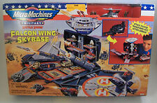 NEW Galoob Micro Machine MILITARY FALCON WING SKYBASE Action Airbase *SEALED*