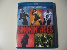 Smokin' Aces (Blu-ray/DVD, 2011, 2-Disc Set) Brand New and Sealed
