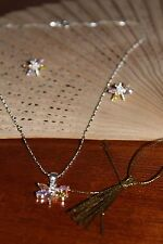 A16 Creaciones Zilver 925 Silver Swing Chain with Silver Dragonfly Pendant
