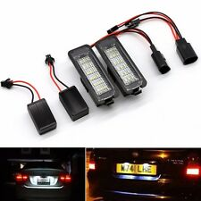 2x Error Free LED Number License Plate Light Lamp Bulb For VW GOLF MK4 MK5 Seat