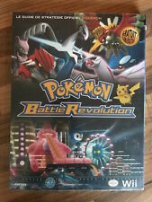 guide officiel POKEMON BATTLE REVOLUTION     NEUF/NEW