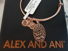 Alex and Ani Because I Love You SISTER II ROSE GOLD Bangle New W/ Tag Card & Box