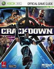 Crackdown : Prima Games Official Strategy Guide (Paperback, 2007) XBOX 360
