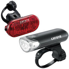 Cateye EL-135 & Omni 5 TL-LD155-R Light Set Bike Front & Rear Light Set Commuter