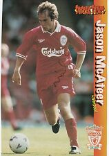 JASON McATEER LIVERPOOL PIERRE van HOOIJDONK ORIGINAL SIGNED MAGAZINE CUTTING