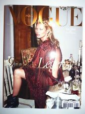 Magazine mode fashion VOGUE PARIS #961 octobre 2015 cover Kate Moss