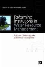 Reforming Institutions in Water Resource Management: Policy and Performance for