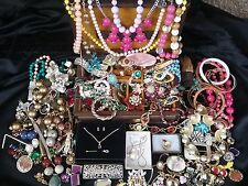 Vintage Estate Junk Drawer Jewelry Lot