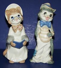 WONDERFUL CASADES MADE IN SPAIN MOTHER & FATHER CAT FIGURINE PAIR  LLADRO