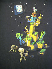 L navy blue MINECRAFT t-shirt by JINX